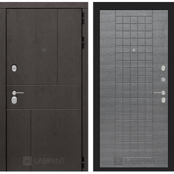 Дверь URBAN 08 – Лен сильвер грей