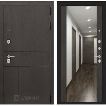 Дверь URBAN с большим зеркалом - Венге