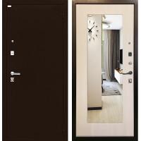 Дверь Ратибор Люкс с Зеркалом (экодуб)