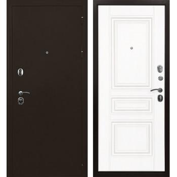 Дверь Ратибор Троя 3К (белый матовый)