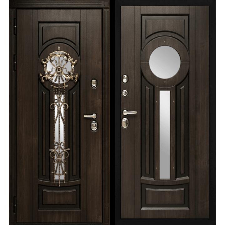 Дверь Сударь Византия со стеклопакетом