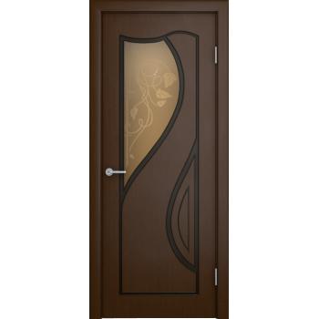 Межкомнатная дверь Кармен (остекленная)