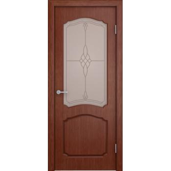 Межкомнатная дверь Каролина (остекленная)