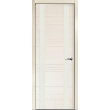 Межкомнатная дверь V - II (стекло белое)