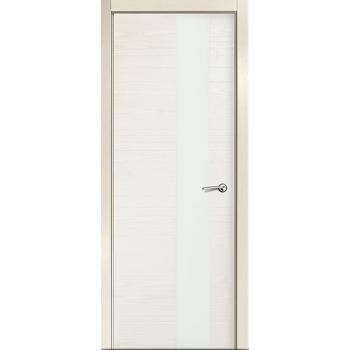 Межкомнатная дверь V - I (стекло белое)