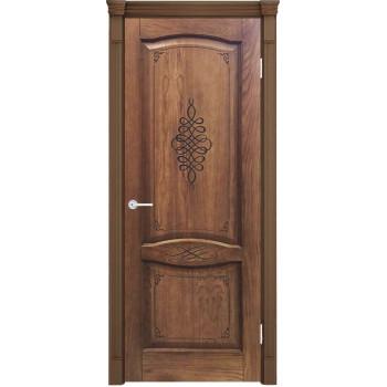 Межкомнатная дверь Наполи 3D (орех)