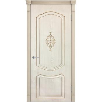Межкомнатная дверь Престиж 3D (слоновая кость)