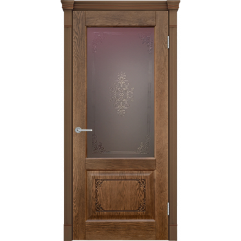 Межкомнатная дверь Шервуд 03 (остекленная)