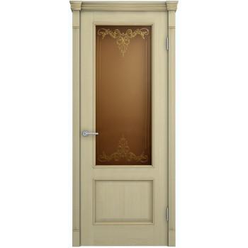 Межкомнатная дверь Шервуд Лондон (остекленная)