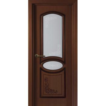 Межкомнатная дверь Муза (остекленная)