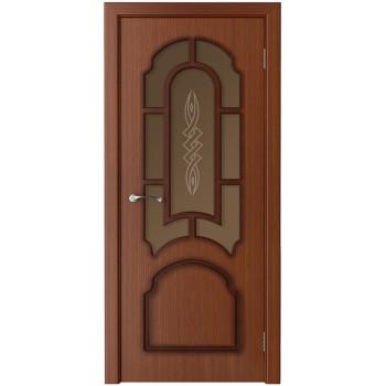 Межкомнатная дверь Соната (остекленная)