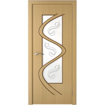 Межкомнатная дверь Вега (остекленная)