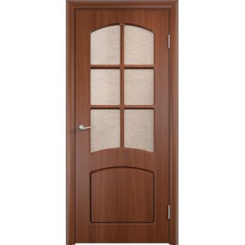 Межкомнатная дверь Кэрол (остекленная)