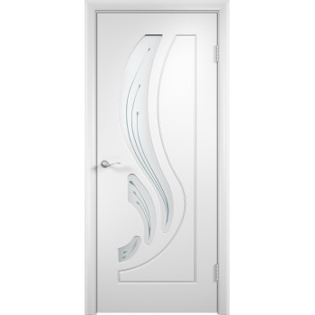 Межкомнатная дверь Лиана (остекленная)