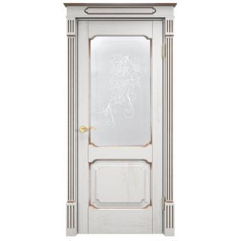 Межкомнатная дверь Д 7 (остекленная)