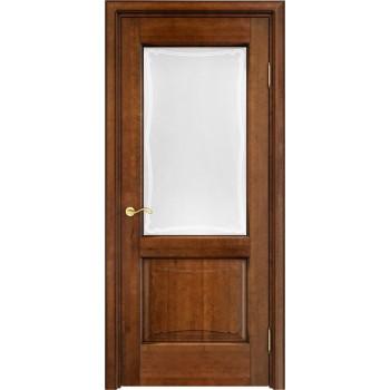 Межкомнатная дверь ОЛ 6/2 (остекленная)