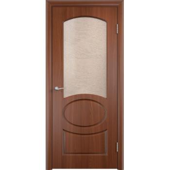 Межкомнатная дверь Неаполь (остекленная)