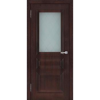 Межкомнатная дверь Римини (остекленная)