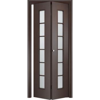 Межкомнатная дверь Тип С-12 (складная)