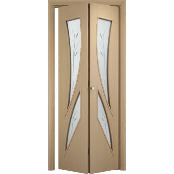 Межкомнатная дверь Тип С-02 (складная)