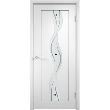 Межкомнатная дверь Витраж (остекленная)