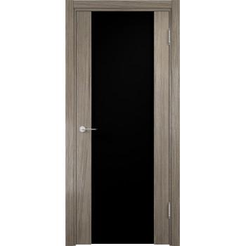 Межкомнатная дверь Сан - Ремо 01 (Черный триплекс)