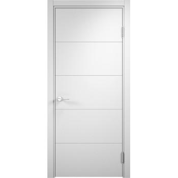Межкомнатная дверь Турин 01 (белая)